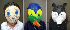 3rd Grade Rainforest Masks, rAMA hUGHES  This project took almost two months last year. So, I knew it was a gamble to ask my current third graders to des...