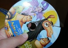 This is cool! Disney will replace any of your scratched or broken DVD's...how did I not know this?