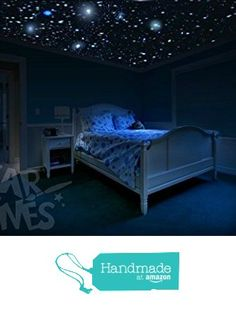 250 Realistic Glow In The Dark Stars Best For Room   Star Stickers Kit For  Childrenu0027s Bedroom Ceiling, Unique Gift For Kids, Babies, Toddlers And  Teens, ...
