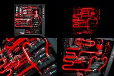 The 'Avexir 805 Kun' build has some intense liquid cooling going every which way while matching the ROG Maximus VIII Ranger beautifully! #ModMondays Click here for more pictures: http://on.fb.me/1H45UmX