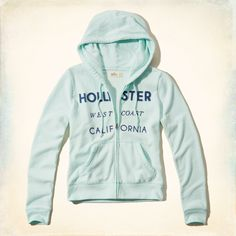 Girls Applique Logo Graphic Hoodie | Girls Tops | HollisterCo.ca