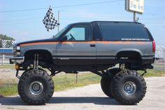 cars and trucks Gmc Trucks, Lifted Chevy Trucks, Chevrolet Trucks, Diesel Trucks, Pickup Trucks, Chevy 4x4, Classic Gmc, Classic Trucks, Redneck Trucks