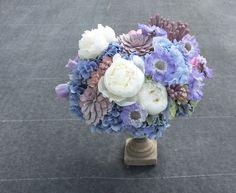 Russian blue by Bornay  flowersbybornay.blogspot.com.es