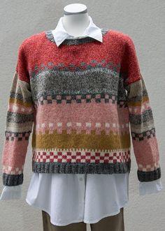 dk Webmail :: Vi tror, at du vil synes om disse pins Fair Isle Knitting Patterns, Sweater Knitting Patterns, Knitting Designs, Knit Patterns, Knitting For Kids, Hand Knitting, Knit Fashion, Pulls, Knitwear