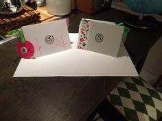 Für den Weihnachtsbasar der Schule , haben wir dieses Jahr Karten selber gemacht. Mit Stempeln und kleben, für jeden super einfach ;-)
