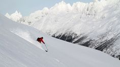 you must go heli skiing - on every skiers bucket list! http://familyskitrips.com/ski_videos_helicopter_skiing.htm