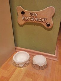 Pottery Classes, Dog Bowls, Projects To Try, Garden, Clay, Crafting
