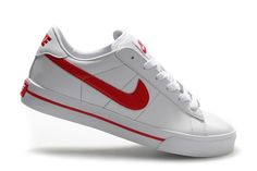5b1ee0d875bc81 Nike 902 Blazer Low Leather Wit Rood Sneakers Heren