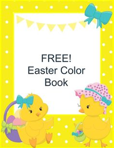 FREE Easter Color Book! Download your copy here!