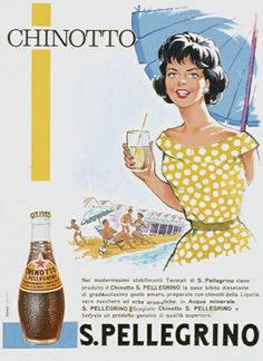 Chinotto, always refreshing and ready for the beach! #sanpellegrinofruitbeverages #chinotto #retro
