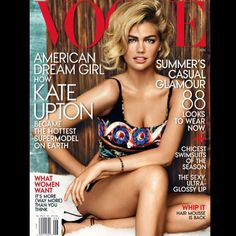 Kate Upton Vogue USA