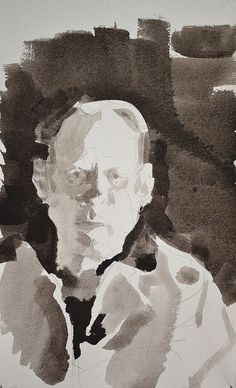 PAINTING: POWERS OF OBSERVATION: PHILIP GEIGER: Ink wash drawings