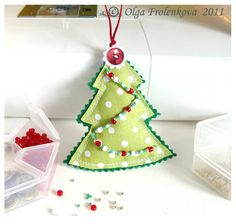 this tutorial is in a different language, but the pictures make it pretty easy to follow along. cute ornament!