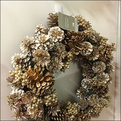 Command-Strip Wreath Guerrilla Merchandising