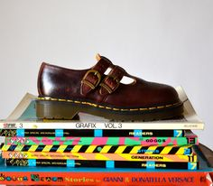 Amazing 90s Dr Martens Size 5 Mary Janes// Vintage Mary Jane Doc Martens SIze 5 Made In England