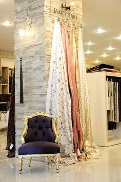 İKON PERDE Showroom.. [] #<br/> # #Showrooms,<br/> # #Display #Ideas,<br/> # #Window #Treatments,<br/> # #Carpets,<br/> # #Retail,<br/> # #Textile,<br/> # #Curtains,<br/> # #Tissues<br/> Showroom Design, Shop Interior Design, Curtain Shop, Fabric Display, Retail Store Design, Curtain Designs, Shop Window Displays, Firs, Display Ideas