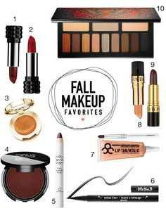 I am totally polarized on my lipstick love right now. I want it either completely nude, blood red or dark black cherry. NOTHING in between:) I'm also diggin' warm golds, deep browns & currants...