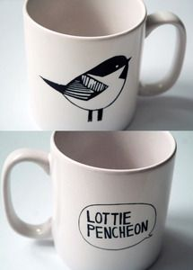 Lottie Pencheon Chickadee Mug £5.00