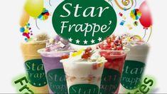 Star Frappe' Franchising Services Food Cart Franchise, Frappe, Ph, Stars, Cake, Desserts, Tailgate Desserts, Deserts, Kuchen