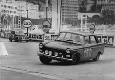 Peugeot 404 .. 1962 Monte Carlo Rally