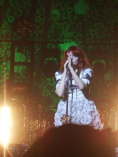 Florence & The Machine - super cool band, totally wanna see them in concert. Favorite song - Cosmic Love.