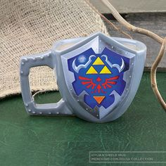 db4477db3391 (affiliate link) Zelda  Hylian Shield Mug Personalized Mugs