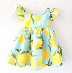Freshly Squeezed Lemon Dress (More Colors)