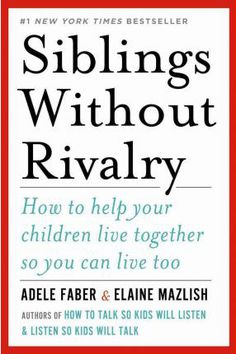 Let's Read & Learn Together: Siblings Without Rivalry - join our virtual bookclub as we read and learn together
