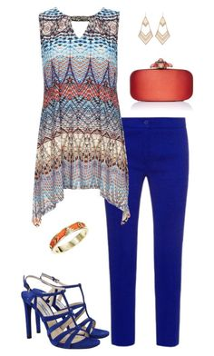 """""""Aztec style"""" by molly2222 ❤ liked on Polyvore featuring Etro, Wallis, Prada, Oscar de la Renta, Lady Fox, House of Harlow 1960 and Aztec"""