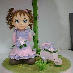 Boneca no abajur Ateliê Dagmar Cavalheiro