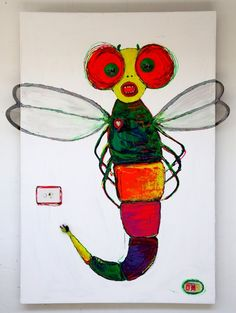 Seen on Colour in Your Life early the techniques used in this would be a great project for class! Class Art Projects, Art Thou, Art Studios, Gallery, Drawings, Outdoor Decor, Artwork, Artist, Painting