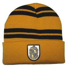 Nouveau produit : Hufflepuff cap yellow with black straps geek Vous aimez ? / New product do you like ? Halloween Fancy Dress, Halloween Gifts, Costume Halloween, Scarf Hat, Beanie Hats, Slytherin And Hufflepuff, Hogwarts, Harry Potter Scarf, Hats For Men