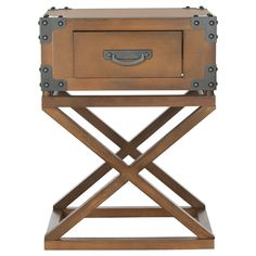 Safavieh Dunstan Autumn Leaf Accent Table | Overstock.com Shopping - Great Deals on Safavieh Coffee, Sofa & End Tables