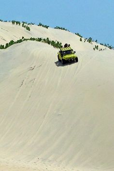 I didn't get to ride on one of these but we did walk around in the dunes. Cumbuco  near Fortaleza, Brazil.