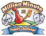 Million Minute Family Challenge  - great way to challenge your family to spend less time in front of the tube  and more time in front of each other!  Sep 1 - Dec 1