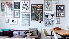 The cool Copenhagen home of a typographer