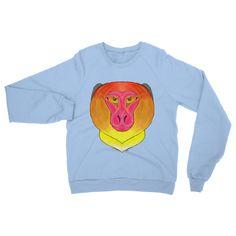 Fire Monkey Heavy Blend Crew Neck Sweatshirt – Kikis Castle