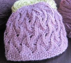 Seed & Eyelet Baby Hat