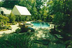 Antine Landscape_Bakcyard patio and pool