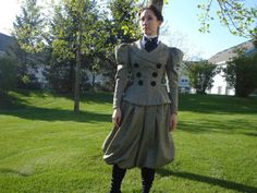 The Couture Courtesan: 1890s Bloomer Bicycle Outfit