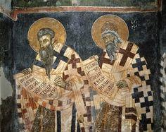 Fresque, XIV<sup>e</sup> siècle, église Saint-Marc de Dracevo…