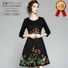 806e41c888719  楽天市場 バレンタインパーティードレス フォーマル ワンピース 結婚式 ワンピース 刺繍 ワンピース フレア ワンピース