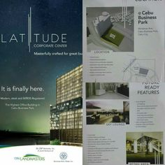 #CebuBusinessPark NEW GREAT PROJECT - LAUNCHING SOON ✅ LATITUDE Corporate Center 🏤 own your office space. Ideal for: #businessdistrict Let's talk click bit.ly/2eD2e7Q . Lawyers . Doctors . BPO . Call Center #donotrent . Insurance company . Marketing company  . Property Investment (Rental) . Business Office . Atbp.  More info. Pls PM or Contact 0917 631.2335