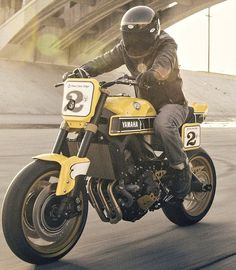 Yamaha XSR700 Faster Sons Roland Sands Wasp Bobber Bikes, Yamaha Motorcycles, Vintage Motorcycles, Custom Motorcycles, Custom Bikes, Cars And Motorcycles, Motorcycle Outfit, Motorcycle Bike, Xjr 1300