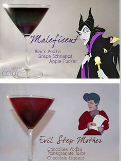 Disney Princess and Villain Inspired Cocktails - Scream Sirens Magazine