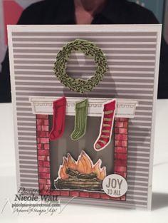 festive fireplace stampin up Google zoeken Hearth Home