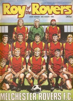 Roy of the Rovers comic August 1988 of the Rovers comic in good used condition. Please see full description and photo for more details. Kempton Park, Football Kits, Great Team, Vintage Comics, Event Calendar, Childhood Memories, Gypsy, Nostalgia, Soccer