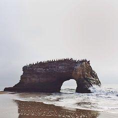 #seaside #rocky #arch