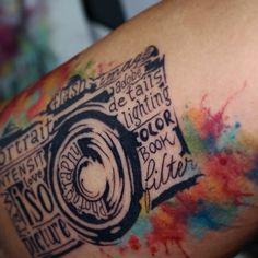 Tatuamos no corpo o que trazemos no coração.