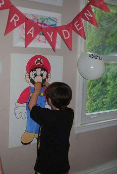 Video Game Party Games Mario birthday party Super mario